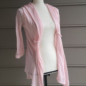 💜3/$20💜 Pink Hooded Shrug